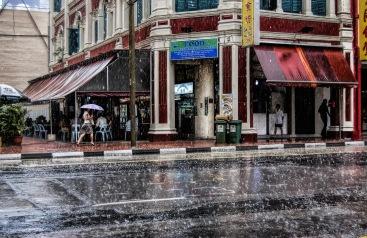 Rain in Singapore
